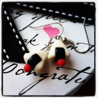 Japanese Rice Ball (Onigiri) Earrings by rltan888