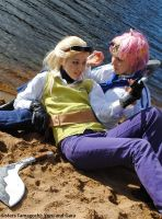 One piece: Coby, Helmeppo by Sisters-Tamagochi