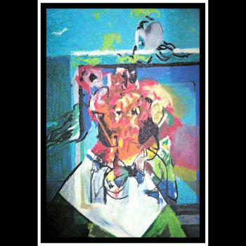 After George Condo  7 (variations on cubist faces  by cvisuali