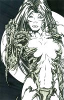 witchblade ink by patera22