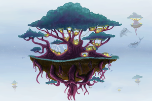 Tree Island Civilization by Xeraki