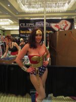 Fetish Con 2014: Christina Carter as WW Part 2 by CarlShepard