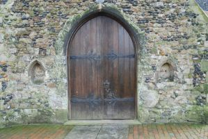 Church Door by Samphire-stock