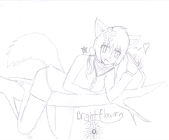 Neko Brightflower .:RQ:. by Kikomi-Sama