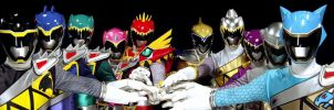 All 10 Kyoryuger by yurivorelover