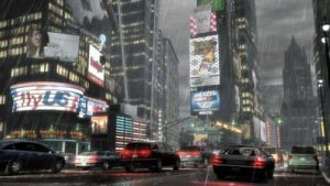 Time Square by Dark-Fox-666