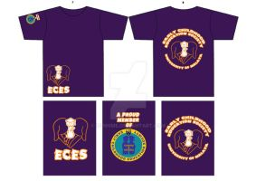 ECES Tshirt Design 1 by didihime