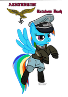 Rainbow Dash  (luftwaffe Uniform) vector by fORCEMATION