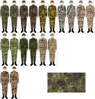 Flecktarn + variants by Tounushi
