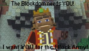 Minecraft - Join The Block Army by unusual229