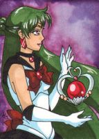 Sailor Pluto - ATC by OhhSugar