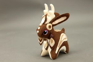 Jackalope plush by hontor