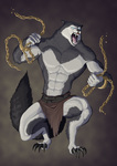 Revenge of the Pantheons : Fenrir by doubleleaf