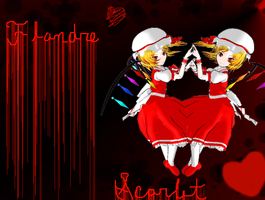 .: Touhou MMD :. Scarlet Flandre by Genocider--Syo