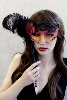Venetian style mask by Minnu