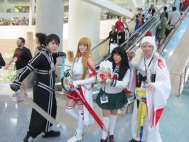 SAO and Inuyasha by Toramelle