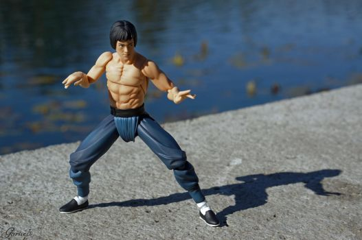 Bruce Lee - Enter The Dragon by Garivel
