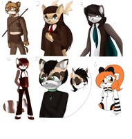 More adoptables by woodine