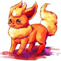 flareon sketch by michellescribbles