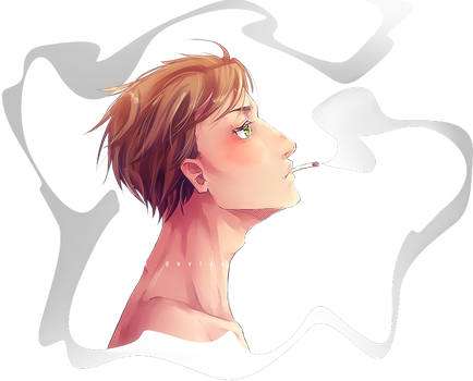 [Drawing] Smoker by Ey-Saa