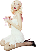 Christina Aguilera Png by Suyesil