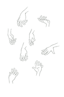Hand Reference Practice by MilleniumDream