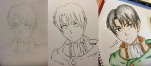 Levi Heichou Process by AnImAtEd-MeDoW