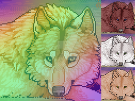 Wolf Premade - Sold by NieBear