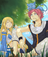 Nalu - Happy Pocky Day by Neilund