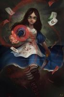 FANART ALICE MADNESS RETURNS by Rokudo-Aurora