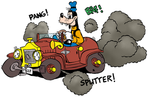 Goofy car trouble by Hidde99
