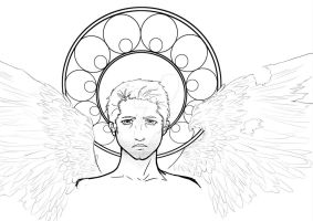 Castiel by casfeathers