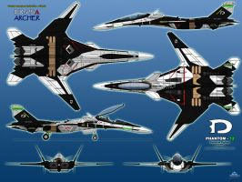 IFX-25A Archer - Phantom-12 - Phantom Mode by haryopanji