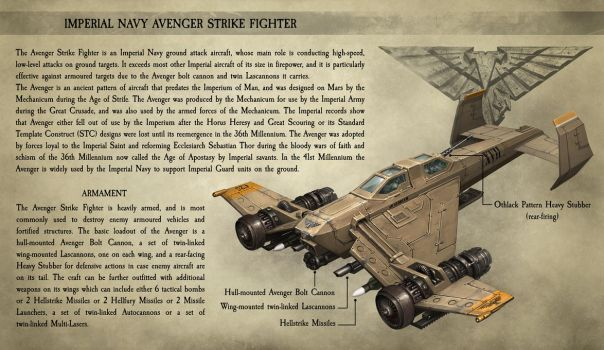 Avenger Strike Fighter by CELENG