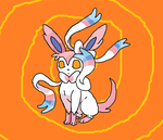 The Saluting Sylveon by NotMolo