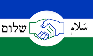 Israeli Palestinian Unity Flag by Party9999999