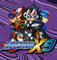 Megaman X9 Poster -READ- by Advent-Axl