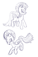Commission: Page Turner sketches by ponywise