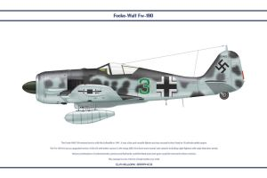 Fw190A6 JG300 1 by WS-Clave