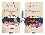 Mentos: Not a Boring Mouth by Toasted-Cookies