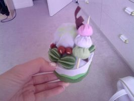 Green Tea Plushie Cake Pic 2 by carmietee