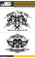 Rise of the Revolution T-shirt by 5MILLI