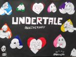 UNDERTALE ANNIVERSARY! by Nitaxy