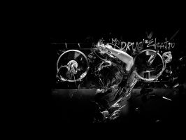 My Drug Is Electro Wallpaper by YoungLinkGFX