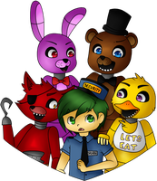 Guard Girbeagly | Five Nights at Freddy's by FeatherLetters