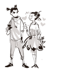 Puc And Garu by some-hipster