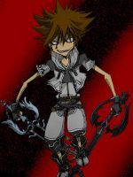 Nega Sora - Colored by NephilV