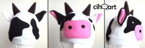 cow hat by cihutka123