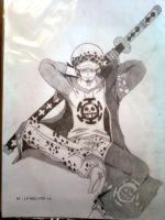Trafalgar Law 2years :D by lyneixlynn