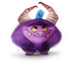 Day 586. Foster's Home for Imaginary Friends by Cryptid-Creations